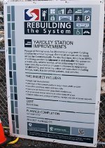 Yardley station info.